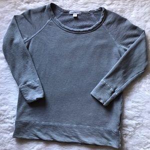 James Perse Standard Lightweight Sweatshirt